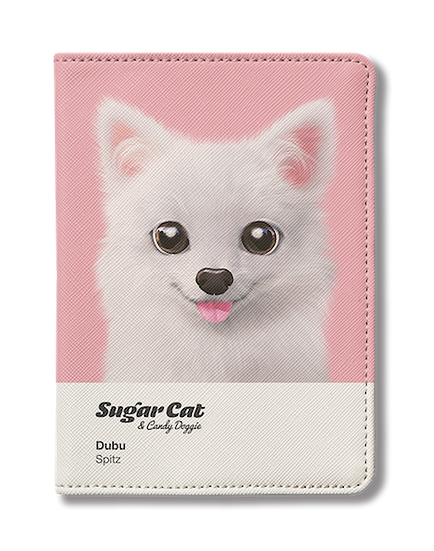 Passport Holder_SugarCat CandyDoggie_Dubu the Spitz