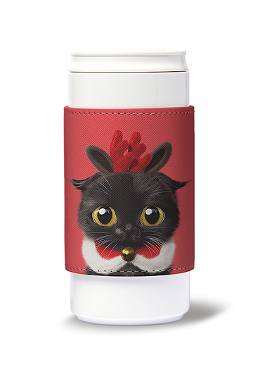 ECO Can Plus 330ml w/ sleeve_SugarCat CandyDoggie_Santa Gimo