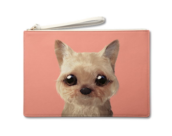 Large Pouch_SugarCat CandyDoggie_Omji the Yorkshire Terrier