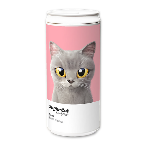 ECO Can 450ml_SugarCat CandyDoggie_Somi the British shorthair cat