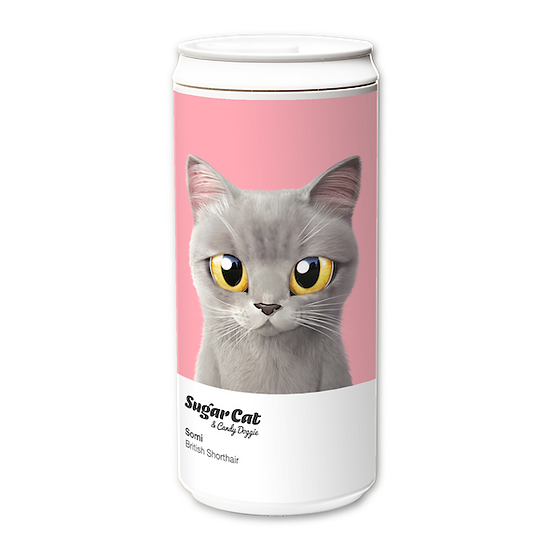 ECO Can 330ml_SugarCat CandyDoggie_Somi the British shorthair cat