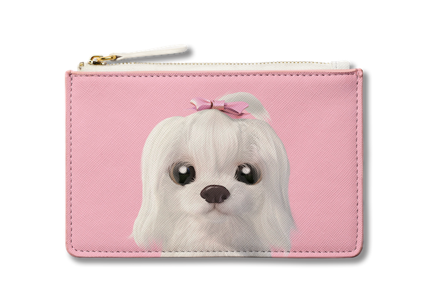 Small Pouch_SugarCat CandyDoggie_Iryn the Maltese
