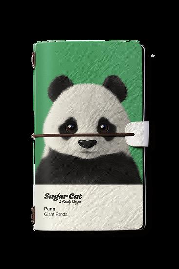 Travelogue notebook_SugarCat CandyDoggie_Pang the Giant Panda
