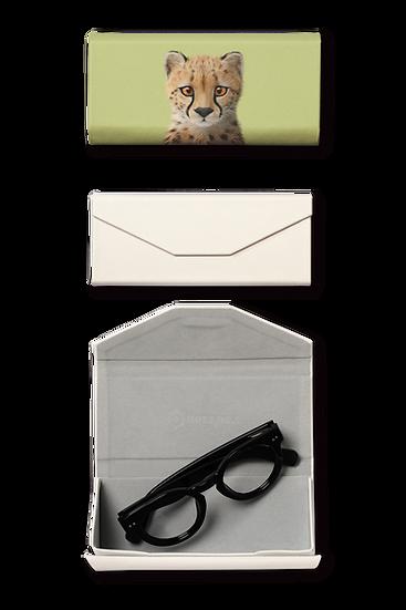 Foldable spectacle case_SugarCat CandyDoggie_Samantha The Cheetah