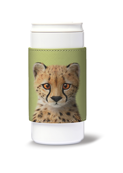 ECO Can Plus 330ml w/ sleeve_SugarCat CandyDoggie_Samantha The Cheetah