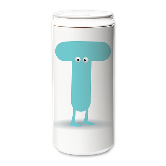 ECO Can 330ml_Funny Alphabet_T