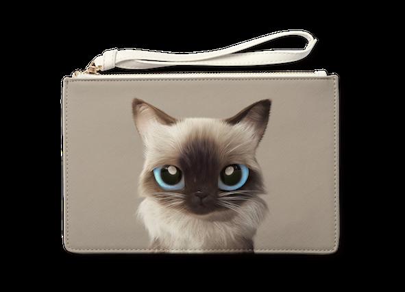 Medium Pouch_SugarCat CandyDoggie_Hongsi the Baliness cat