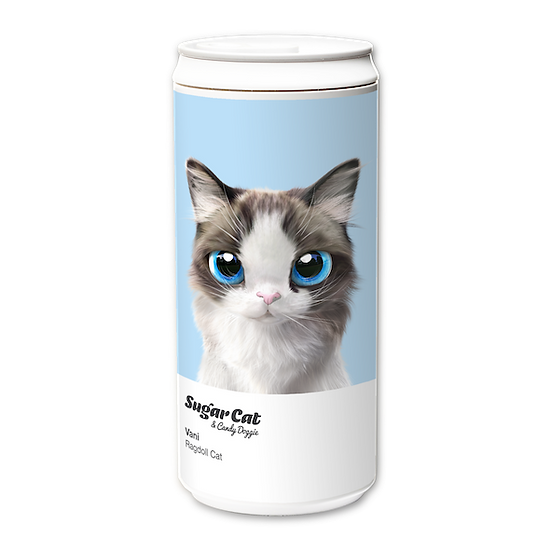 ECO Can 330ml_SugarCat CandyDoggie_Vani the Ragdoll cat
