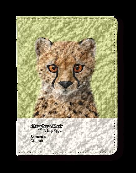 Passport Holder_SugarCat CandyDoggie_Samantha The Cheetah