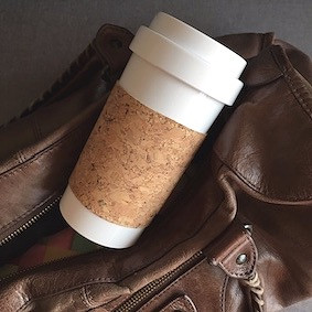 Cafe Plus 400ml with cork sleeve