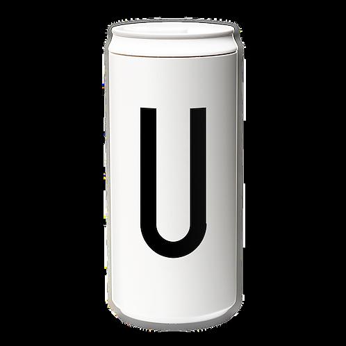 EcoCanPlus330ml_Letter U with Tyvek mug holder