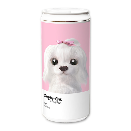ECO Can 330ml_SugarCat CandyDoggie_Iryn the Maltese