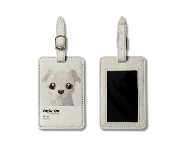 Luggage Tag_SugarCat CandyDoggie_Mongi the Maltese
