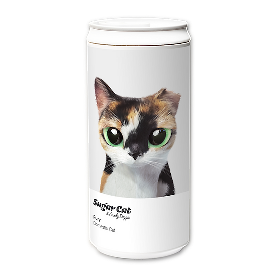 ECO Can 330ml_SugarCat CandyDoggie_Fury the cat