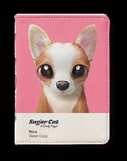 Passport Holder_SugarCat CandyDoggie_Rico the Welsh Corgi