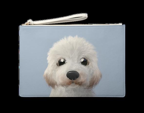 Large Pouch_SugarCat CandyDoggie_Tayo the Doodle dog