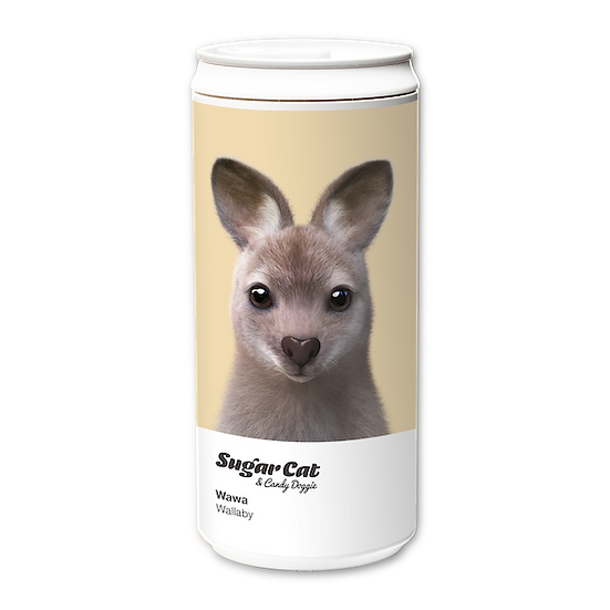 ECO Can 330ml_SugarCat CandyDoggie_Wawa the Wallaby