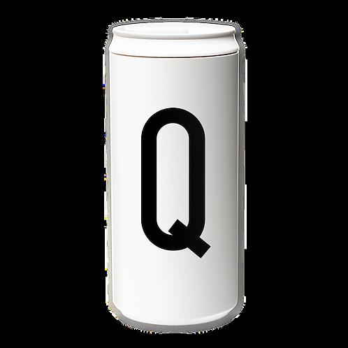 EcoCanPlus330ml_Letter Q with Tyvek mug holder