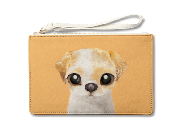 Medium Pouch_SugarCat CandyDoggie_Porry the Shih Tzu