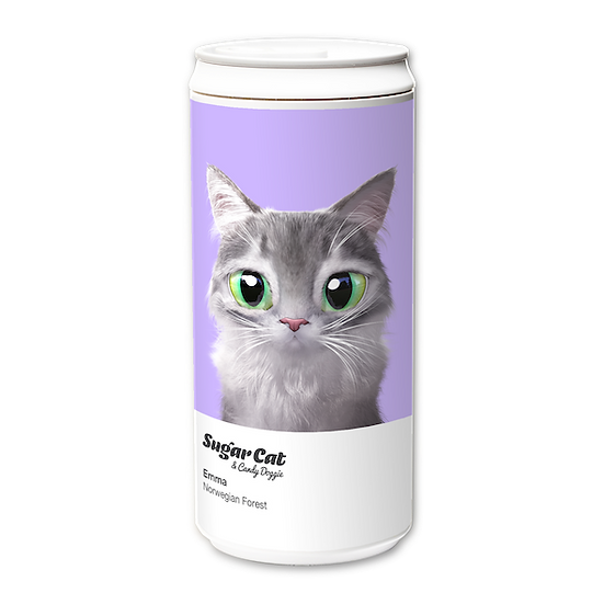 ECO Can 330ml_SugarCat CandyDoggie_Emma the Norwegian Forest cat