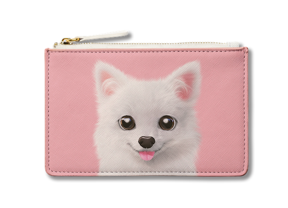 Small Pouch_SugarCat CandyDoggie_Dubu the Spitz