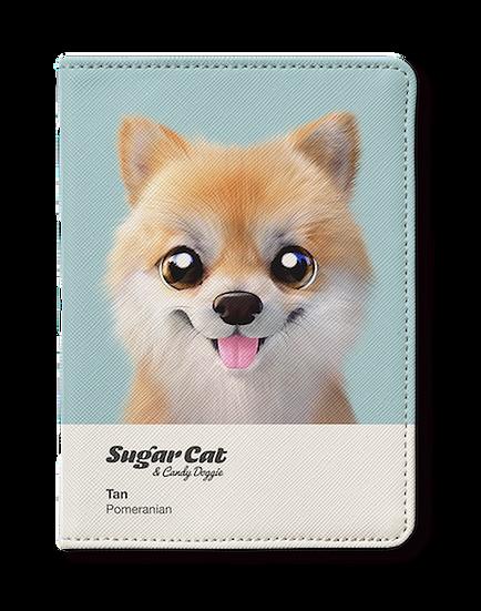 Passport Holder_SugarCat CandyDoggie_Tan the Pomeranian