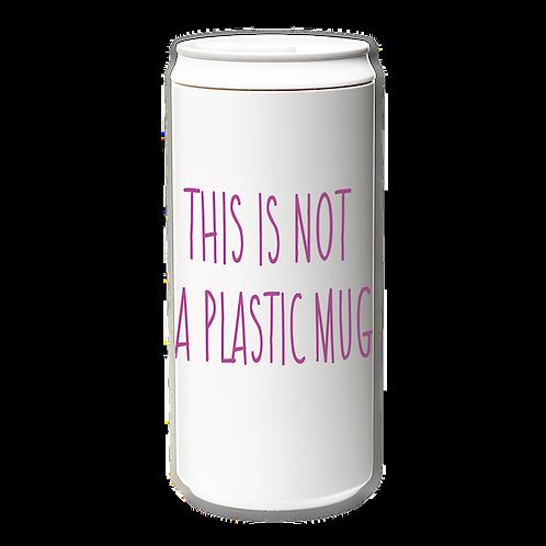 EcoCanPlus330ml_This is not plastic mug_fuchsia