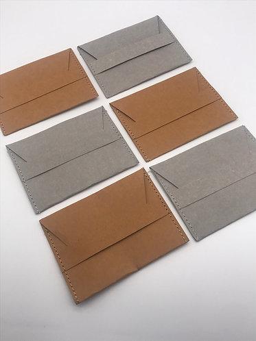 Washable Kraft Paper CardHolder w/ RFID Protection x 2