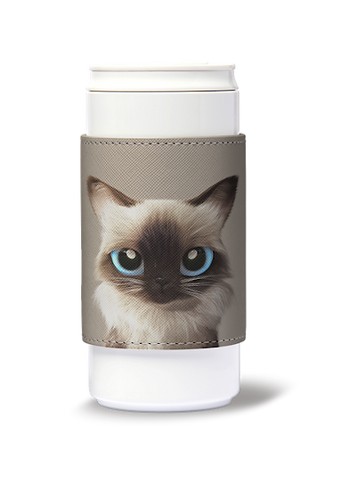 ECO Can Plus 330ml w/ sleeve_SugarCat CandyDoggie_Hongsi the Baliness cat
