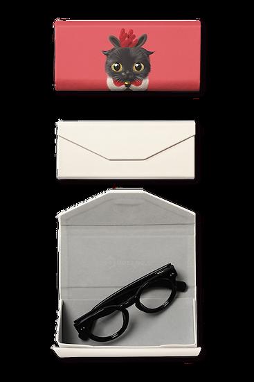 Foldable spectacle case_SugarCat CandyDoggie_Santa Gimo