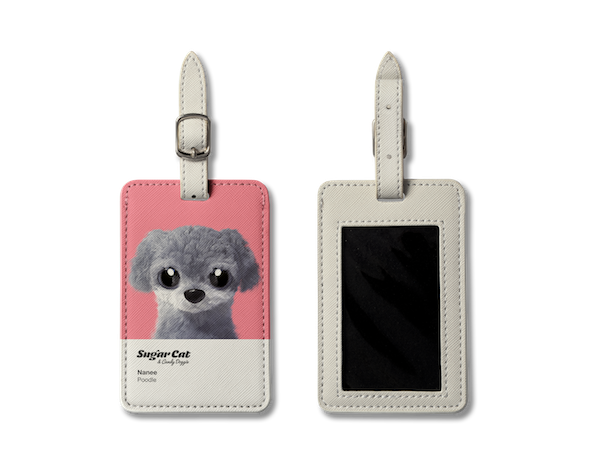 Luggage Tag_SugarCat CandyDoggie_Nanee the Poodle