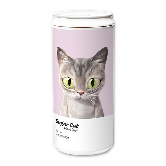 ECO Can 330ml_SugarCat CandyDoggie_Pastel the cat