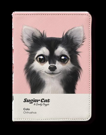 Passport Holder_SugarCat CandyDoggie_Cola the Chihuahua