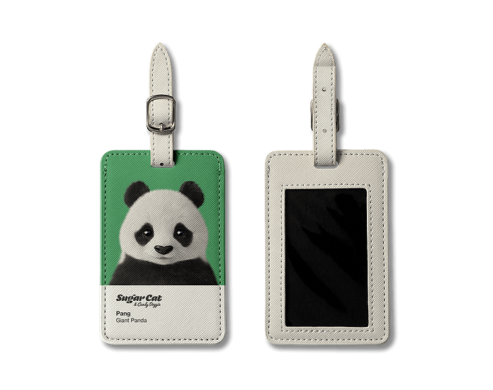 Luggage Tag_SugarCat CandyDoggie_Pang the Giant Panda