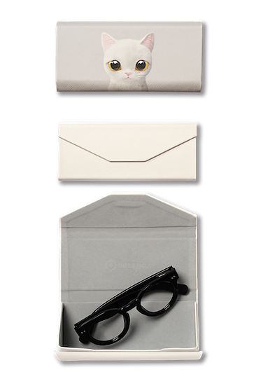 Foldable spectacle case_SugarCat CandyDoggie_Miu the Sottish Straight