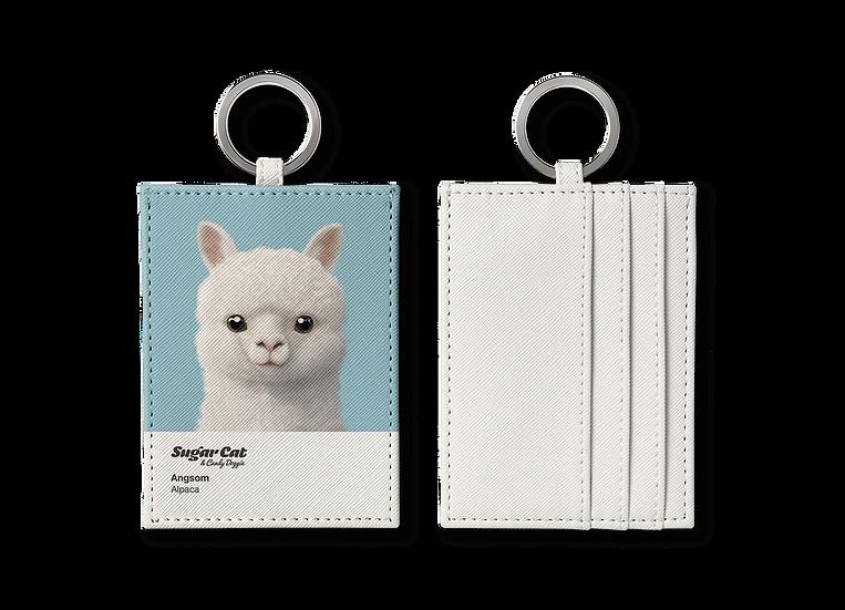 O-ring card holder_SugarCat CandyDoggie_Angsom The Alpaca