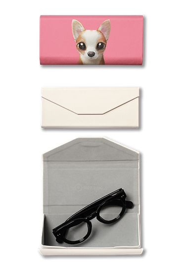 Foldable spectacle case_SugarCat CandyDoggie_Rico the Welsh Corgi