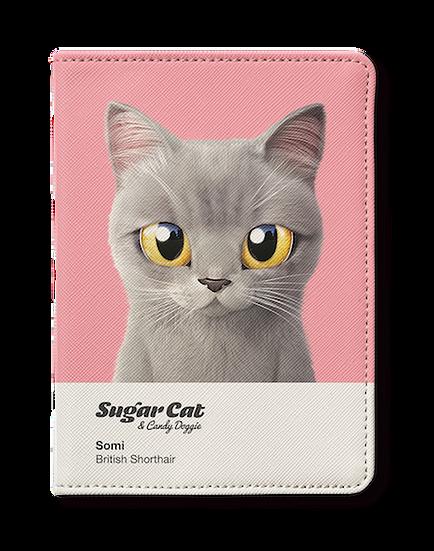 Passport Holder_SugarCat CandyDoggie_Somi the British shorthair cat