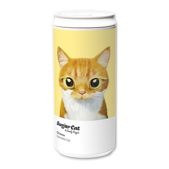 ECO Can 330ml_SugarCat CandyDoggie_Cheese the cat