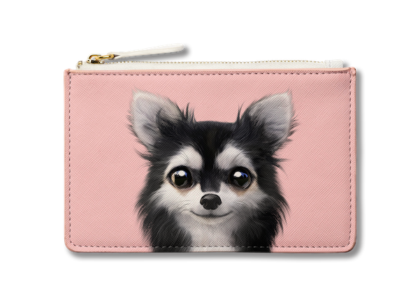 Small Pouch_SugarCat CandyDoggie_Cola the Chihuahua