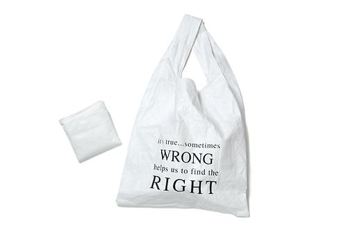 Tyvek Carry Bag (L)_foldable & fashionable (Right..)