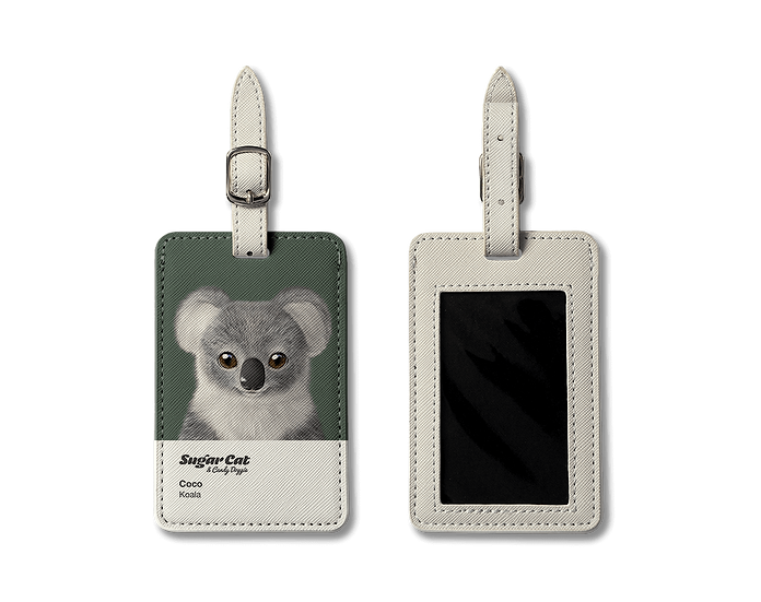 Luggage Tag_SugarCat CandyDoggie_Coco the Koala