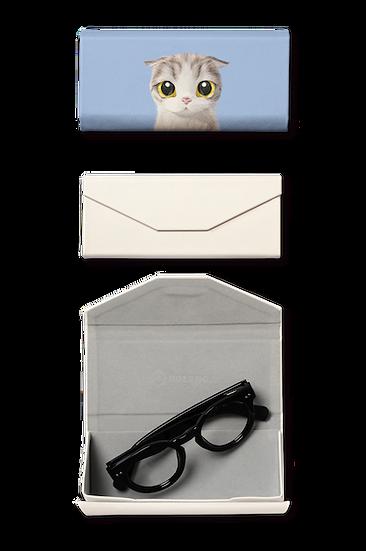 Foldable spectacle case_SugarCat CandyDoggie_Zero the Highland Fold