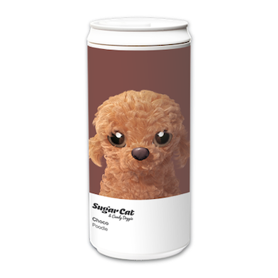 ECO Can 330ml_SugarCatCandyDoggie_Choco the Poodle