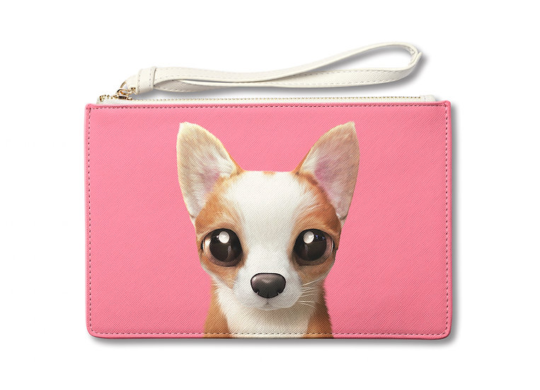 Medium Pouch_SugarCat CandyDoggie_Rico the Welsh Corgi