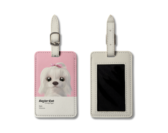 Luggage Tag_SugarCat CandyDoggie_Iryn the Maltese