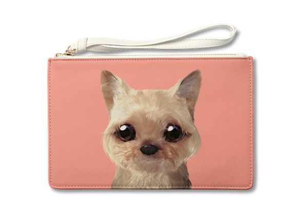 Medium Pouch_SugarCat CandyDoggie_Omji the Yorkshire Terrier