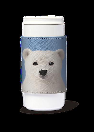 ECO Can Plus 330ml w/ sleeve_SugarCat CandyDoggie_Polar the Polar Bear