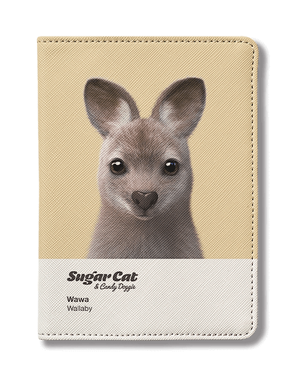 Passport Holder_SugarCat CandyDoggie_Wawa the Wallaby