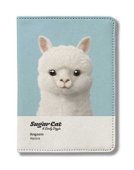 Passport Holder_SugarCat CandyDoggie_Angsom The Alpaca